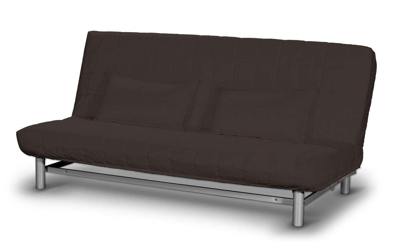 Pokrowiec na sofę Beddinge krótki w kolekcji Cotton Panama, tkanina: 702-03