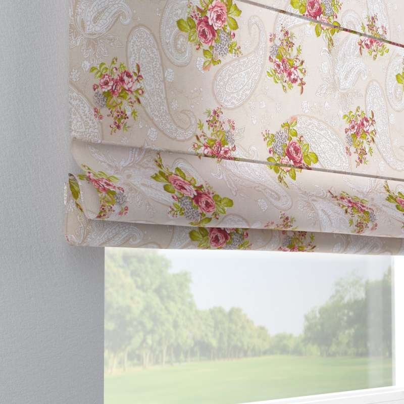 Capri roman blind in collection Flowers, fabric: 311-15