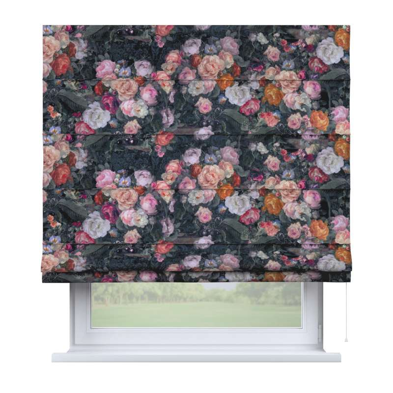 Capri roman blind in collection Gardenia, fabric: 161-02