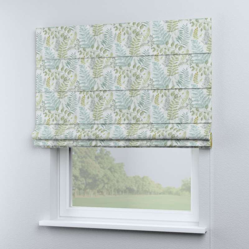 Rímska roleta Capri V kolekcii Pastel Forest, tkanina: 142-46