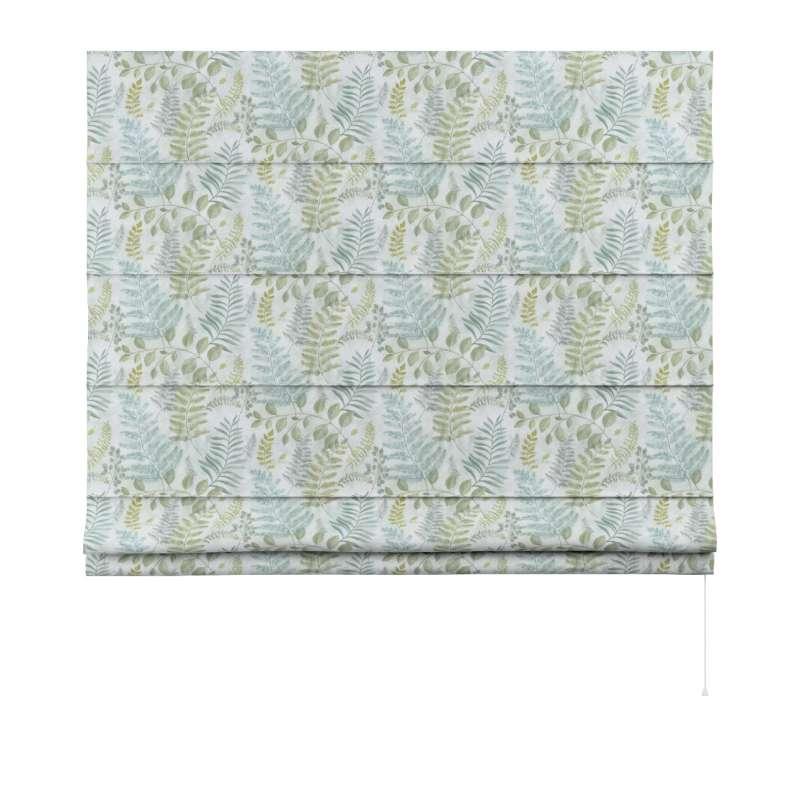 Capri roman blind in collection Pastel Forest, fabric: 142-46