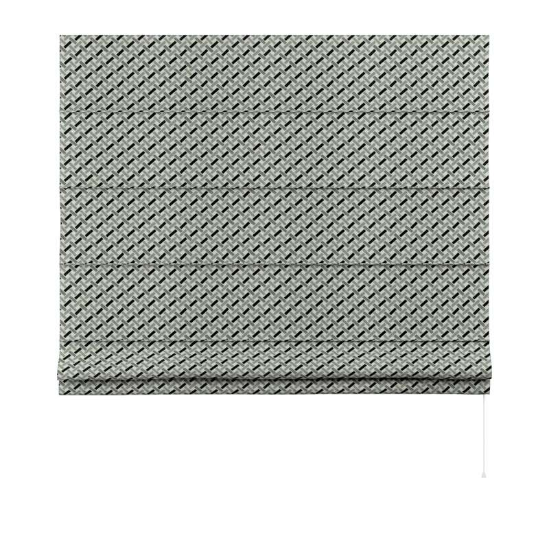 Capri roman blind in collection Black & White, fabric: 142-78