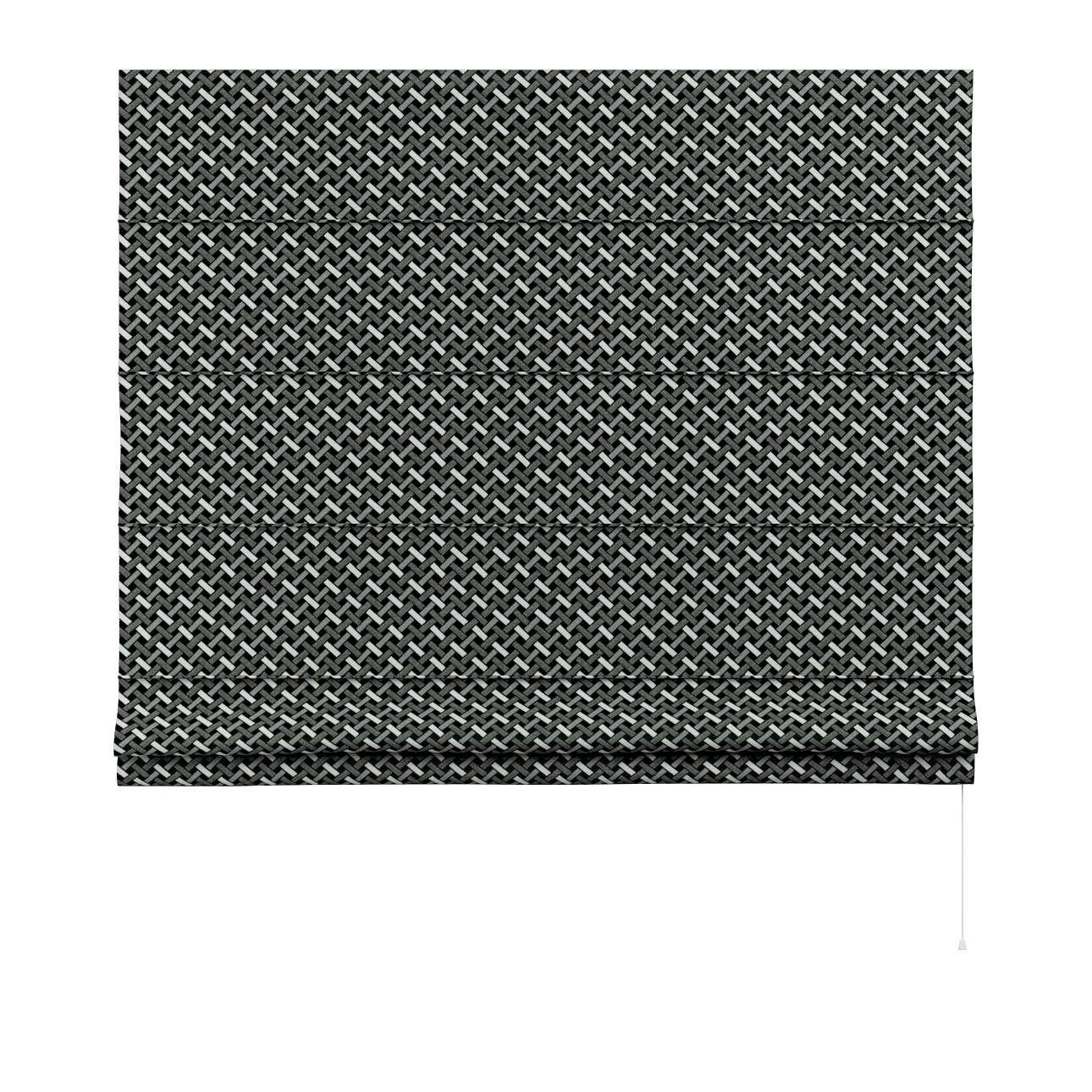 Liftgardin Capri<br/>Uten volang fra kolleksjonen Black & White, Stoffets bredde: 142-87