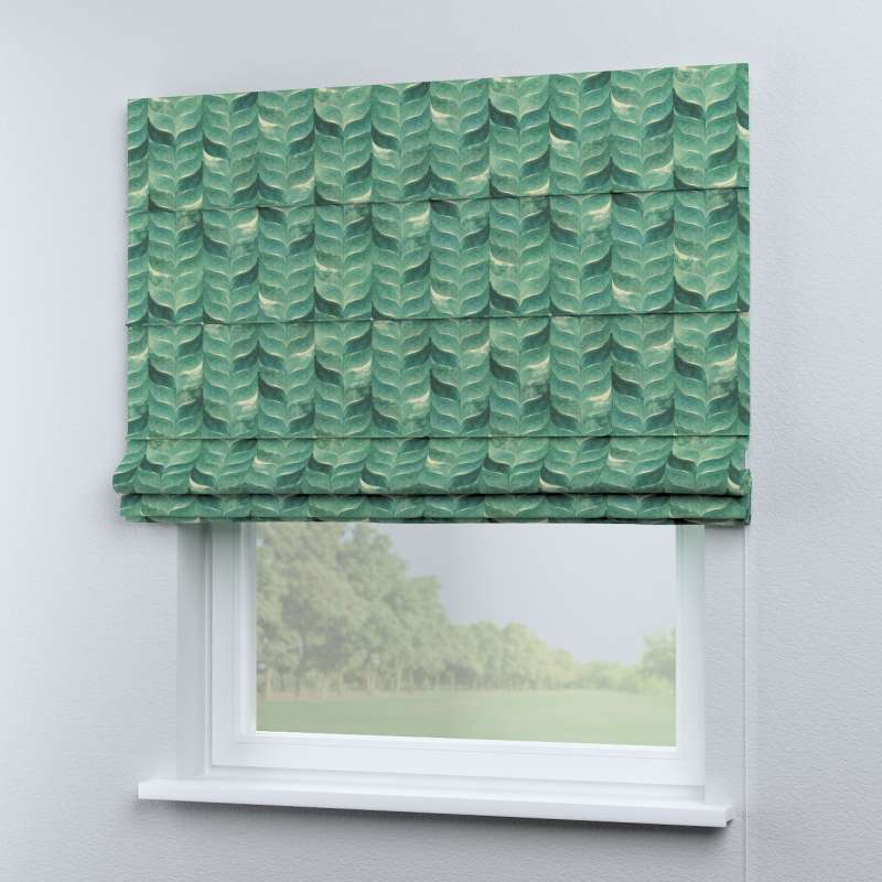 Capri roman blind in collection Abigail, fabric: 143-16