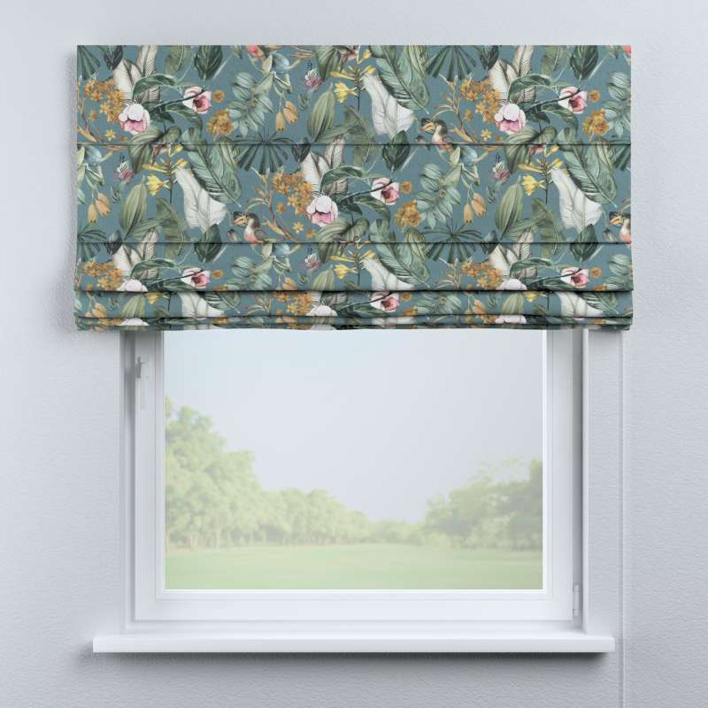 Capri roman blind in collection Abigail, fabric: 143-24