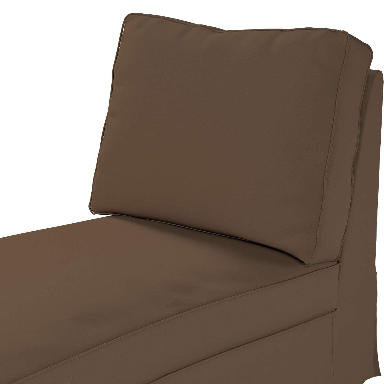 Ektorp Bezug für Recamiere ohne Armlehne, neues Modell von der Kollektion Cotton Panama, Stoff: 702-02