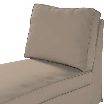 Ektorp trekk sjeselong uten armlen med rett rygg fra kolleksjonen Cotton Panama, Stoffets bredde: 702-28