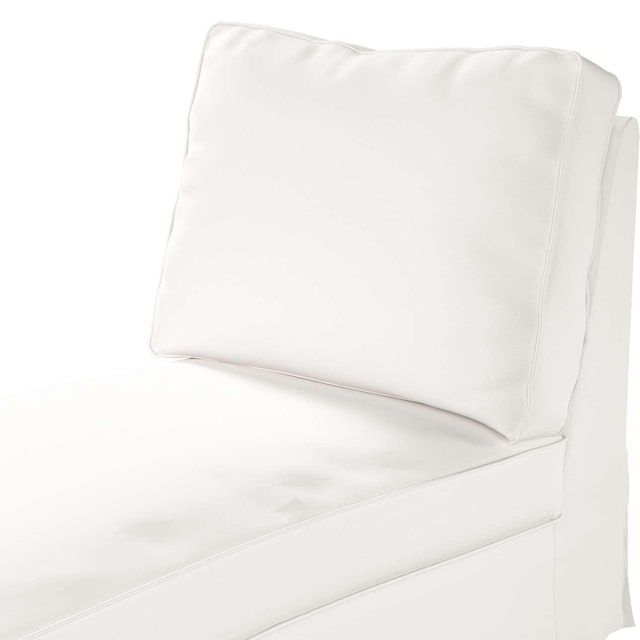 Ektorp trekk sjeselong uten armlen med rett rygg fra kolleksjonen Cotton Panama, Stoffets bredde: 702-34