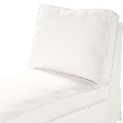 Pokrowiec na szezlong/ leżankę Ektorp wolnostojący prosty tył w kolekcji Cotton Panama, tkanina: 702-34