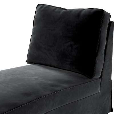 Pokrowiec na szezlong/ leżankę Ektorp wolnostojący prosty tył w kolekcji Velvet, tkanina: 704-17
