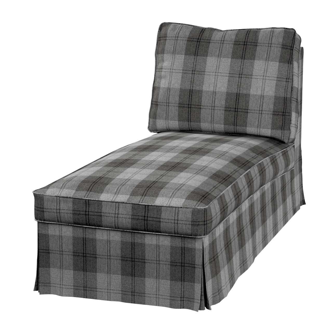 Pokrowiec na szezlong/ leżankę Ektorp wolnostojący prosty tył w kolekcji Edinburgh, tkanina: 115-75