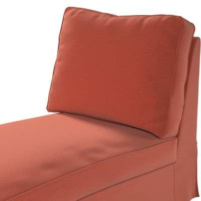 Pokrowiec na szezlong/ leżankę Ektorp wolnostojący prosty tył w kolekcji Ingrid, tkanina: 705-37