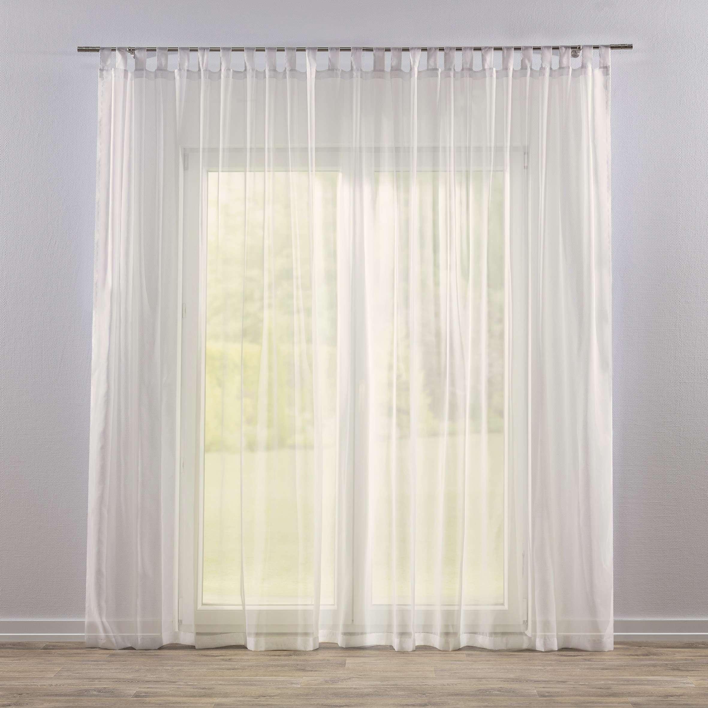 Záclona z voálu na pútkach V kolekcii Voálové záclony, tkanina: 900-01