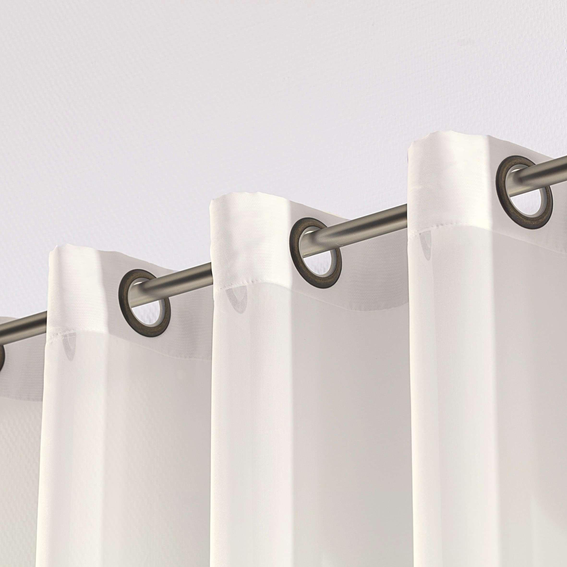 Záclona z voálu na kolieskach V kolekcii Voálové záclony, tkanina: 900-01
