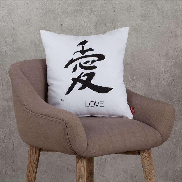 Decoratieve kussenhoes Kore 45x45cm