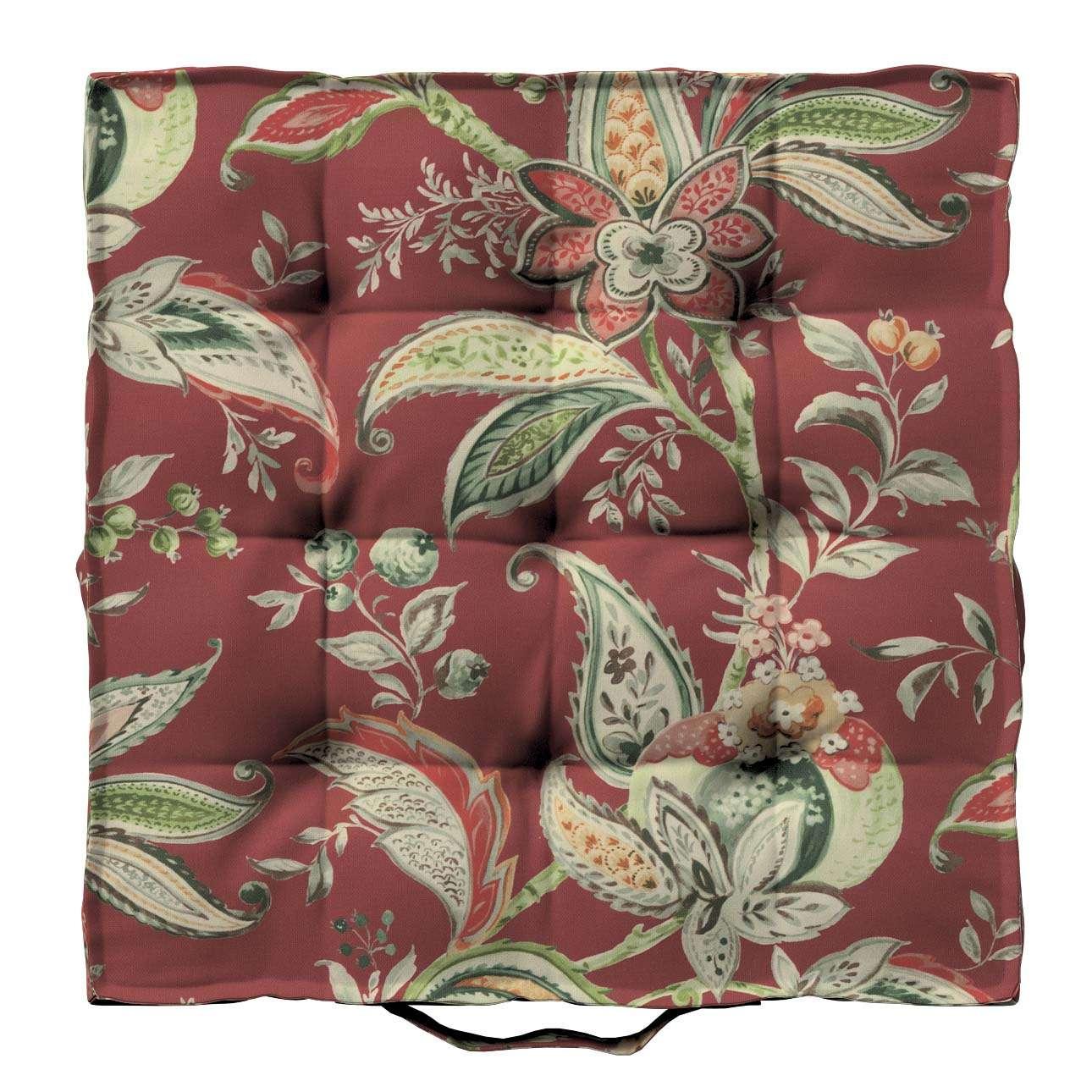 Siedzisko Kuba na krzesło w kolekcji Gardenia, tkanina: 142-12