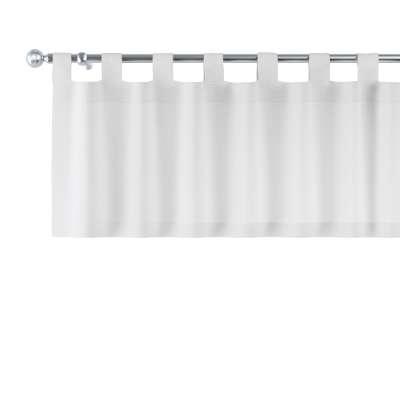 Gardinkappe med stropper fra kolleksjonen Linen, Stoffets bredde: 392-04