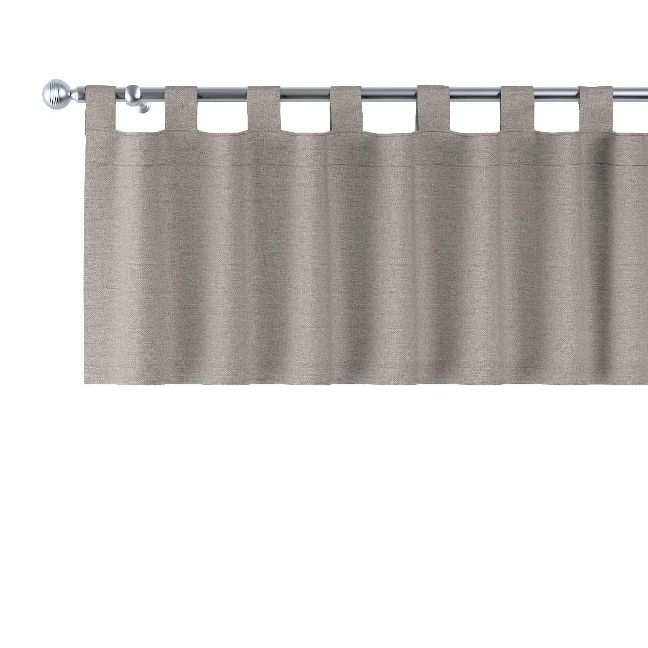 Gardinkappe med stropper fra kolleksjonen Edinburgh, Stoffets bredde: 115-77