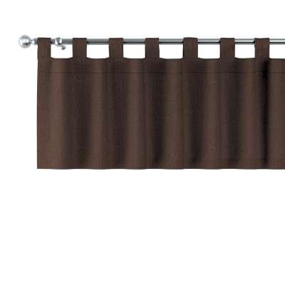 Gardinkappe med stropper fra kolleksjonen Chenille, Stoffets bredde: 702-18
