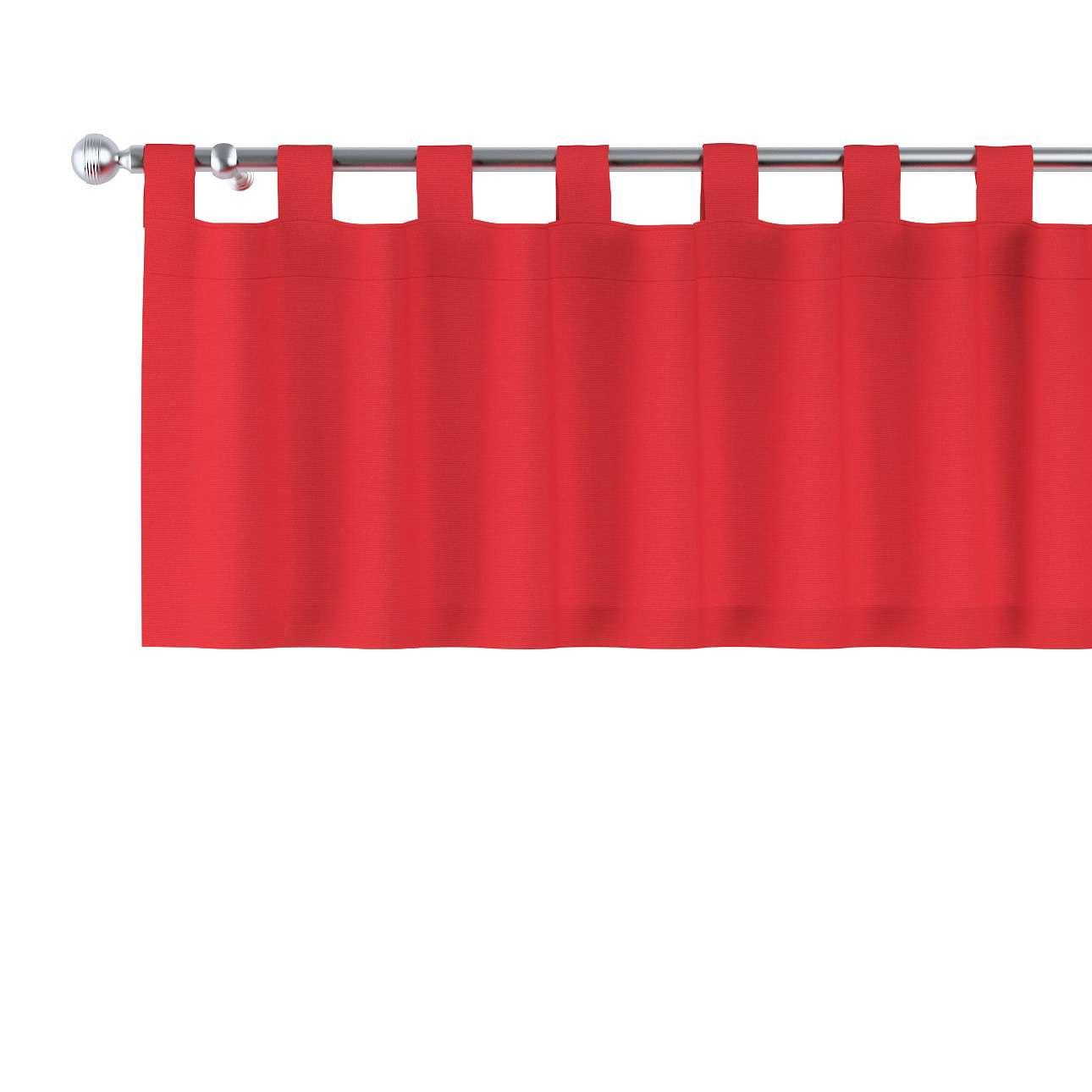 Gardinkappe med stropper fra kolleksjonen Loneta, Stoffets bredde: 133-43
