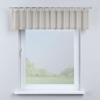 Gardinkappe med stropper fra kolleksjonen Quadro, Stoffets bredde: 136-02