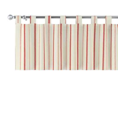 Gardinkappe med stropper fra kolleksjonen Avinon, Stoffets bredde: 129-15