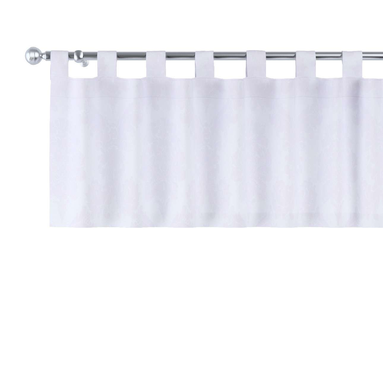 Gardinkappe med stropper fra kolleksjonen Damasco, Stoffets bredde: 613-00