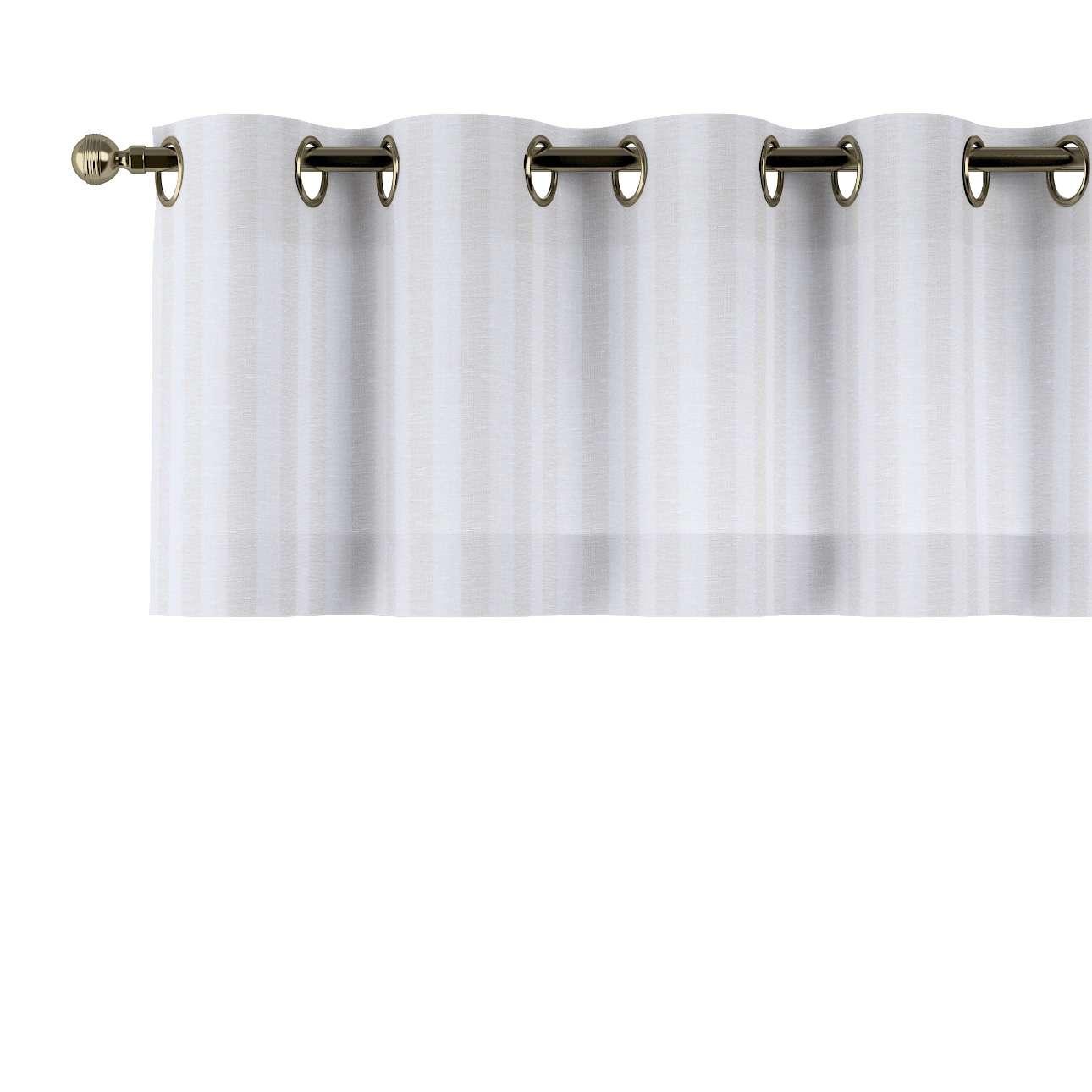 Gardinkappe med maljer fra kolleksjonen Linen, Stoffets bredde: 392-03