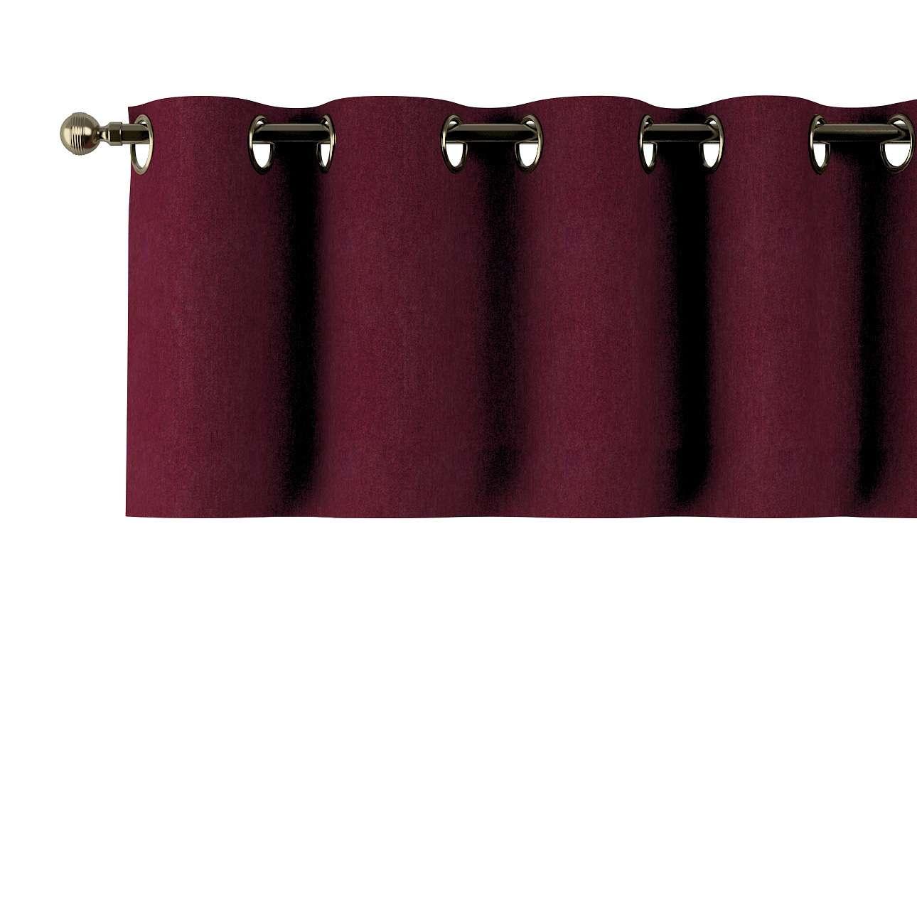 Gardinkappe med maljer fra kolleksjonen Chenille, Stoffets bredde: 702-19