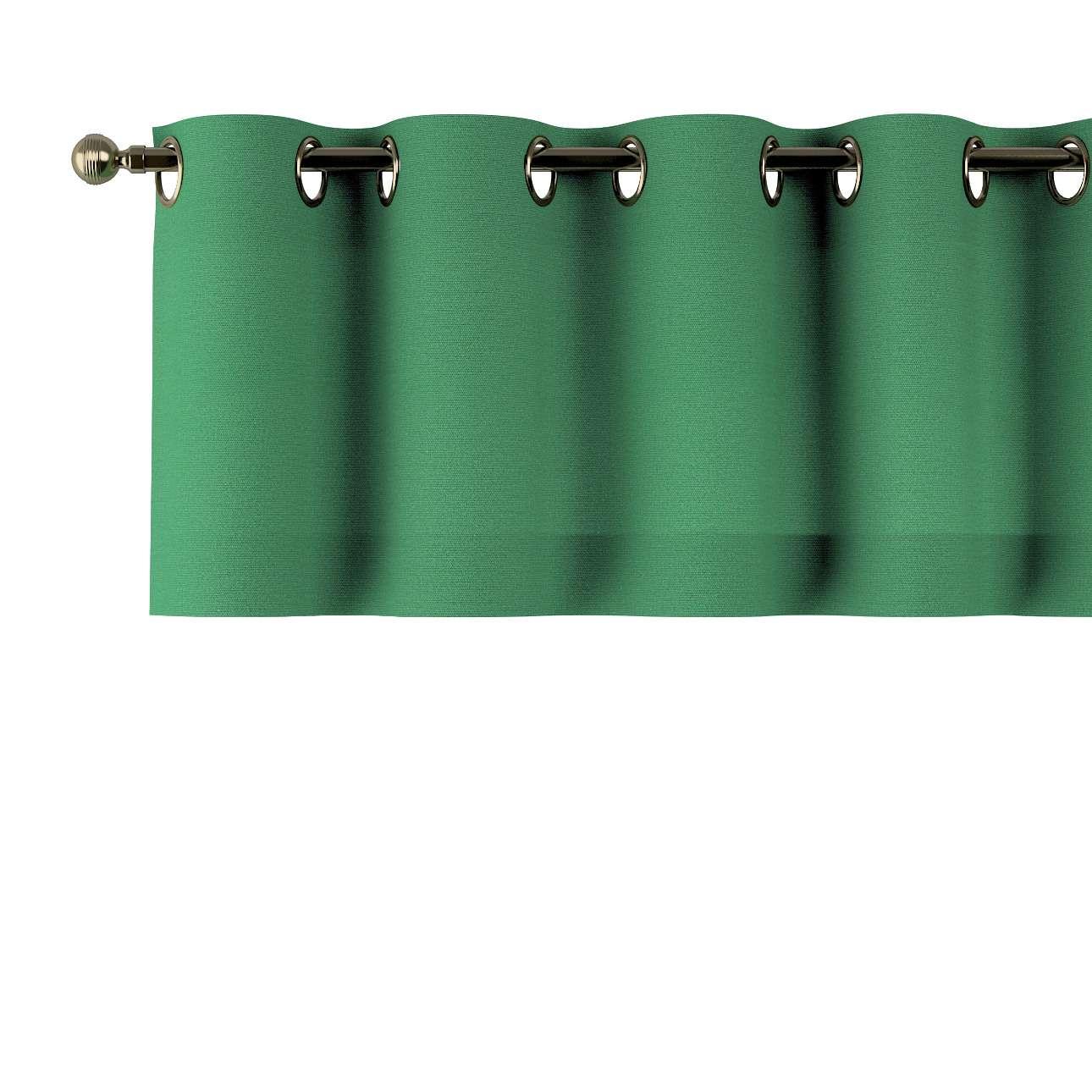 Gardinkappe med maljer fra kolleksjonen Loneta, Stoffets bredde: 133-18