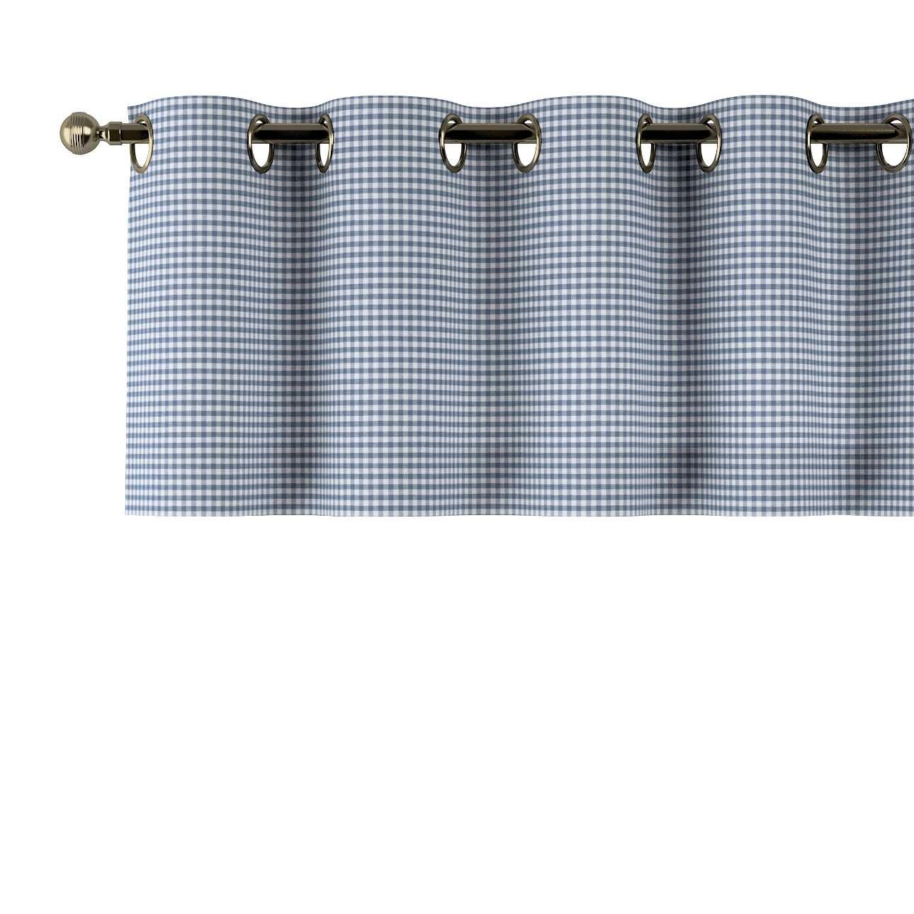 Gardinkappe med maljer fra kolleksjonen Quadro, Stoffets bredde: 136-00
