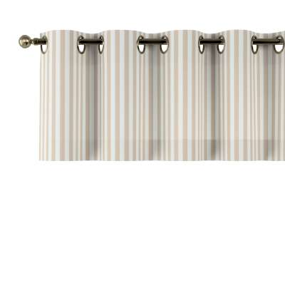 Gardinkappe med maljer fra kolleksjonen Quadro, Stoffets bredde: 136-07