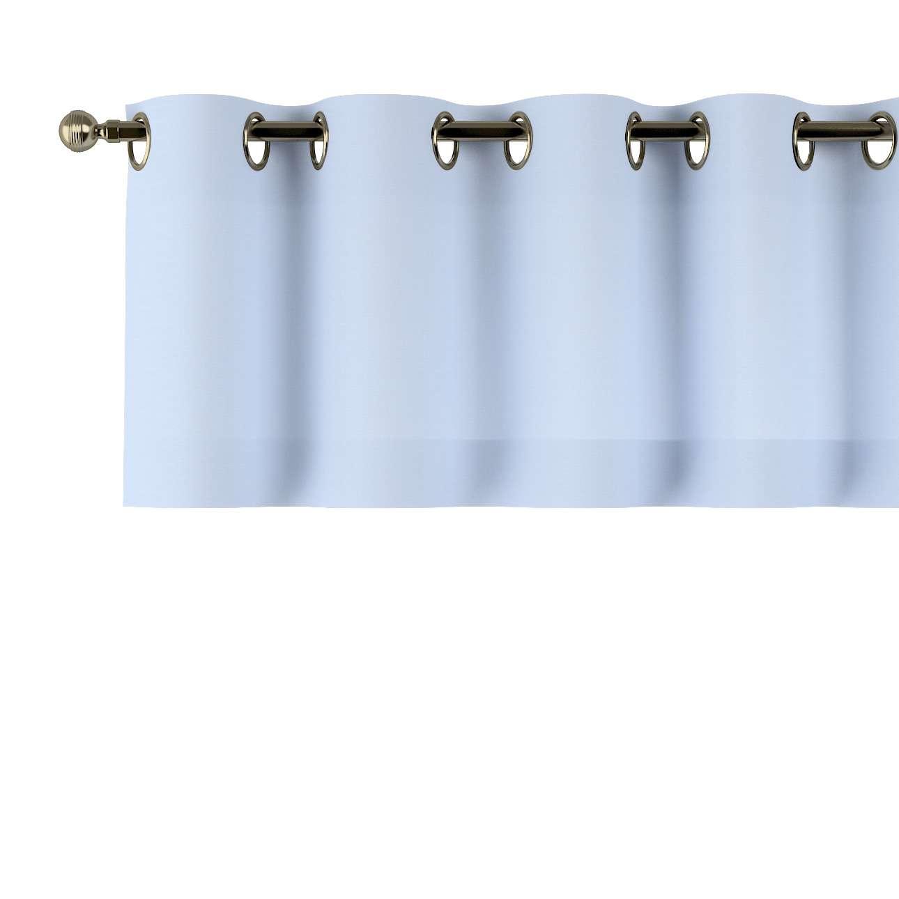 Gardinkappe med maljer fra kolleksjonen Loneta, Stoffets bredde: 133-35
