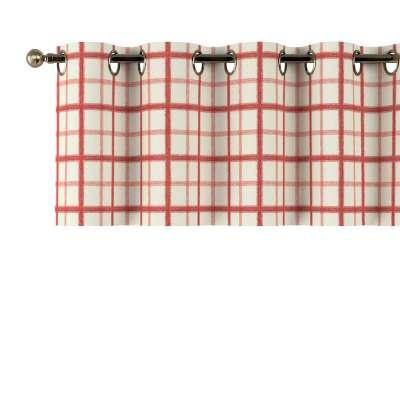 Gardinkappe med maljer fra kolleksjonen Avinon, Stoffets bredde: 131-15