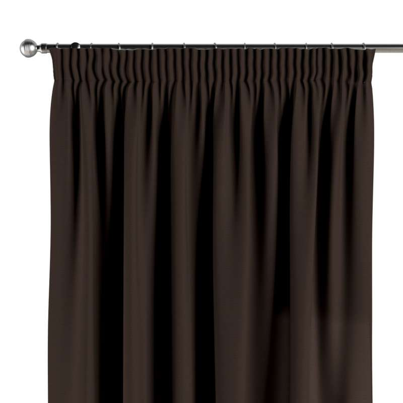 Pencil pleat curtains in collection Panama Cotton, fabric: 702-03