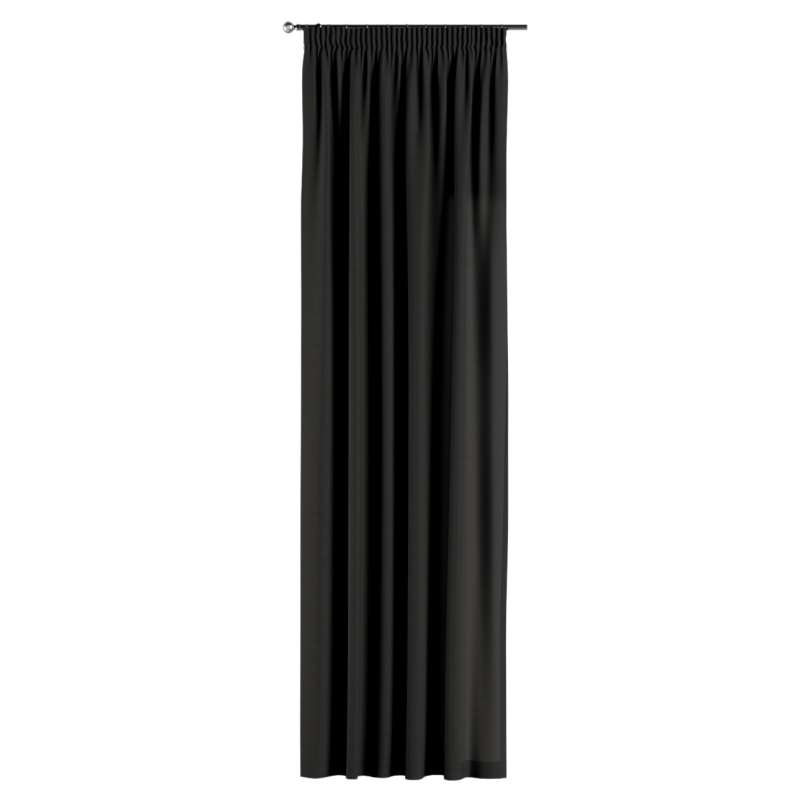 Pencil pleat curtains in collection Panama Cotton, fabric: 702-08