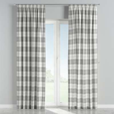 Pencil pleat curtains in collection Edinburgh, fabric: 115-79