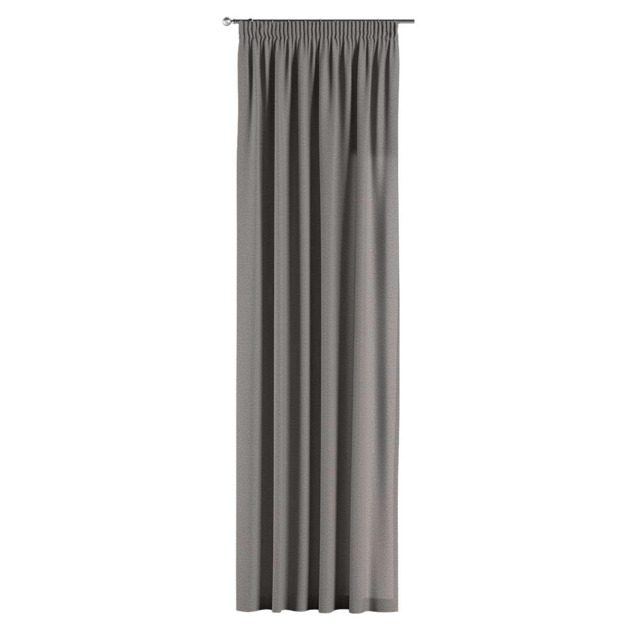 Gardin med rynkband 1 längd i kollektionen Edinburgh, Tyg: 115-81