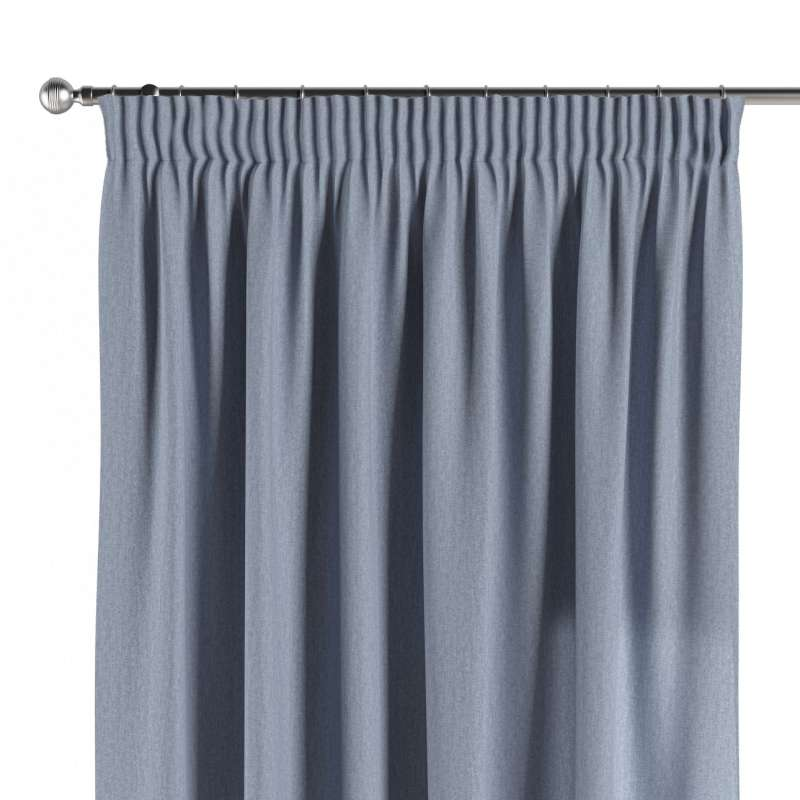 Pencil pleat curtains in collection Chenille, fabric: 702-13