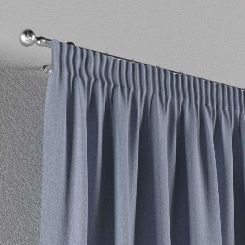 Vorhang mit Kräuselband von der Kollektion Chenille , Stoff: 702-13