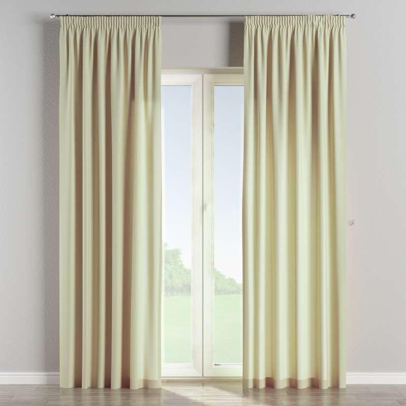 Vorhang mit Kräuselband von der Kollektion Chenille , Stoff: 702-22