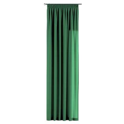 Gardin med rynkband 1 längd i kollektionen Loneta, Tyg: 133-18