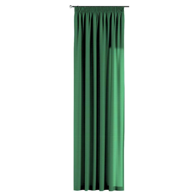 Pencil pleat curtains in collection Loneta , fabric: 133-18