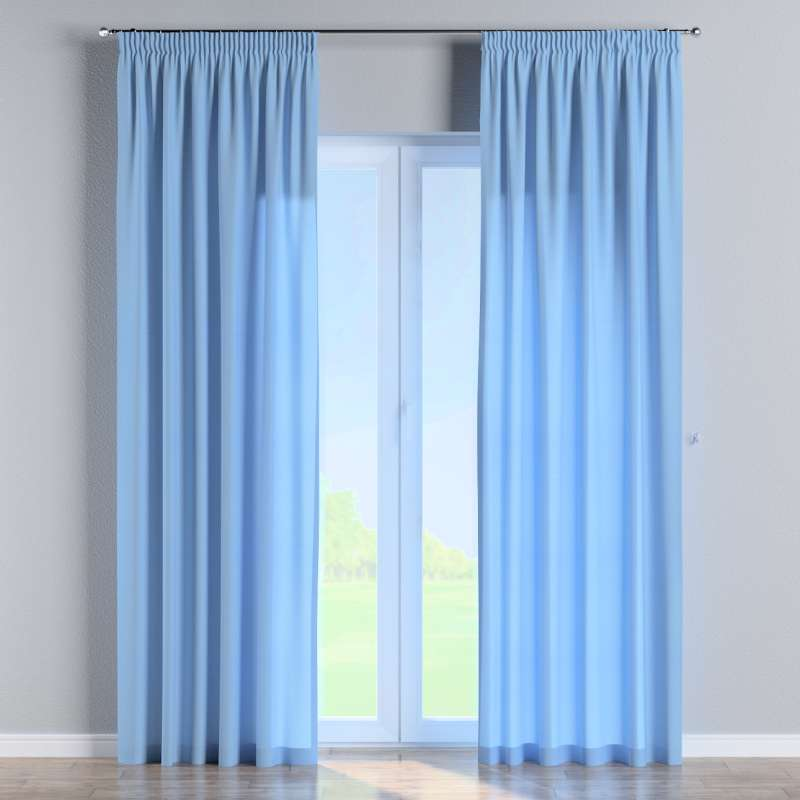 Pencil pleat curtains in collection Loneta , fabric: 133-21
