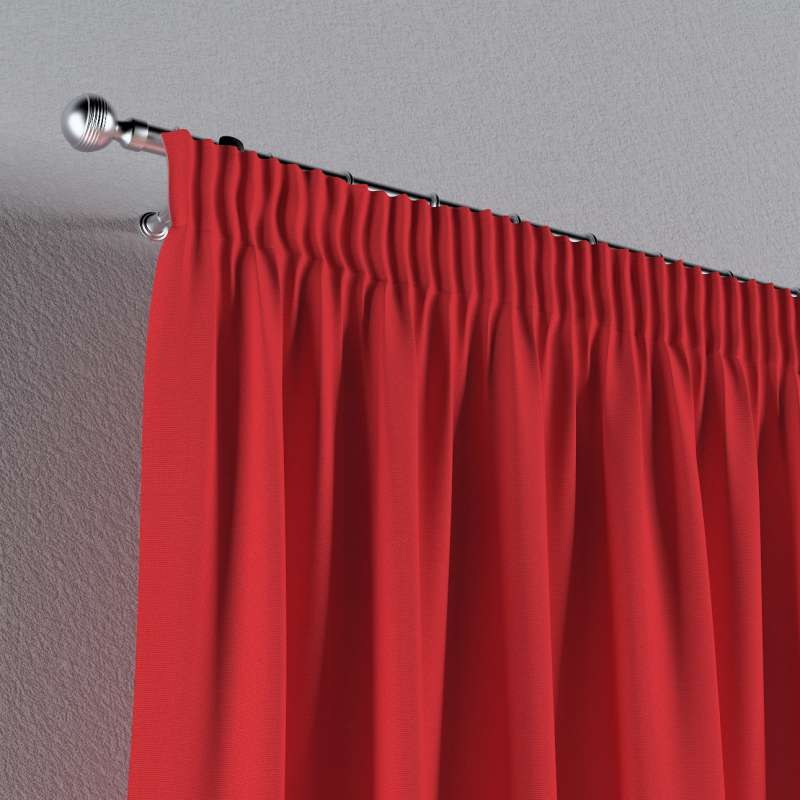 Vorhang mit Kräuselband von der Kollektion Loneta, Stoff: 133-43