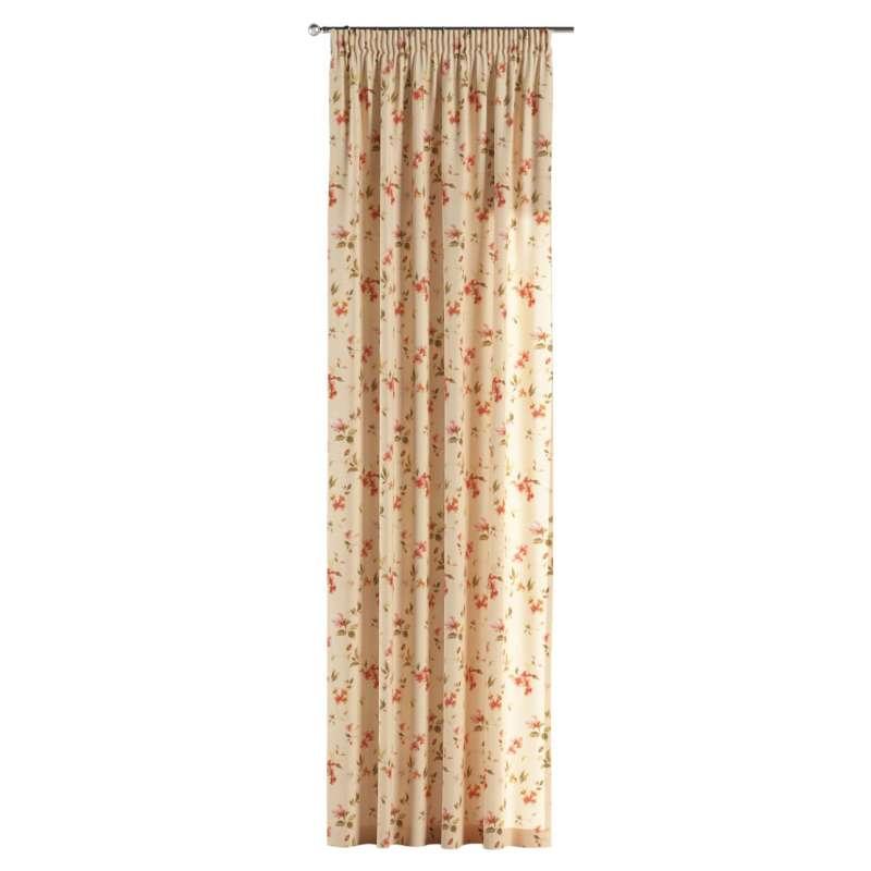 Függöny ráncolóval a kollekcióból Londres Bútorszövet, Dekoranyag: 124-05