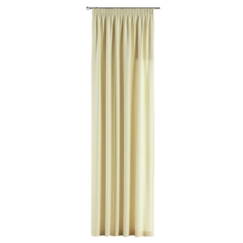 Pencil pleat curtains in collection Panama Cotton, fabric: 702-29
