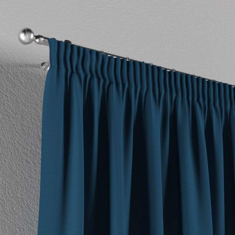 Vorhang mit Kräuselband von der Kollektion Cotton Panama, Stoff: 702-30