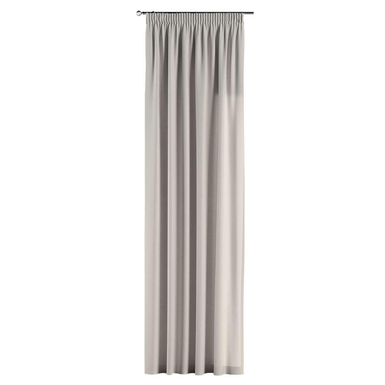 Záves na riasiacej páske V kolekcii Cotton Panama, tkanina: 702-31