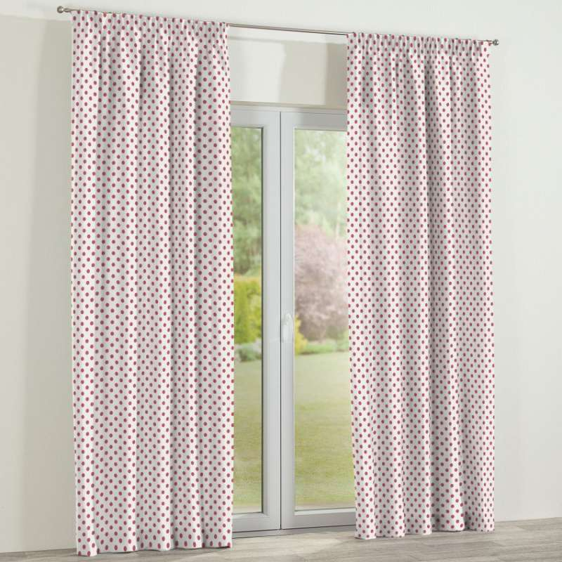 Pencil pleat curtains in collection Little World, fabric: 137-70